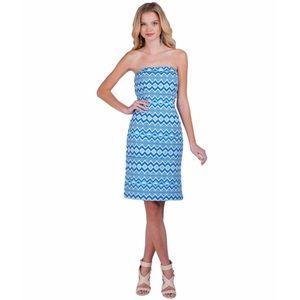 Belle Badgley Mischka Aztec Twill Dress